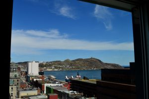 A SNEAK PEEK AT SOME OF THE VIEWS FROM MIX APARTMENTS - DOWNTOWN ST. JOHNS NEWFOUNDLAND